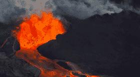 volcan, hawaï, rivière de lave, lave, nature, écologie, île