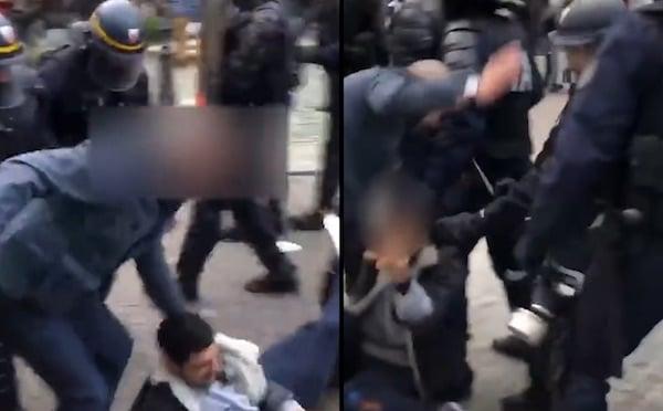 Emeutes du 1er mai : un proche d'Emmanuel Macron surpris en train d'agresser des manifestants, le Président dans la tourmente !