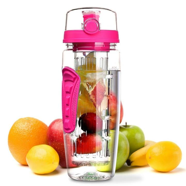 bouteille infuseur fruits