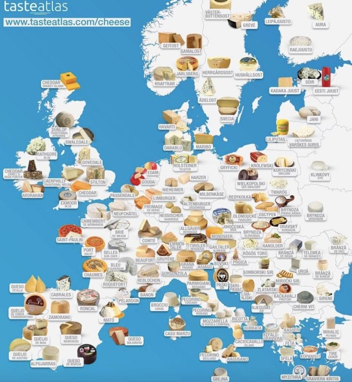 carte fromages