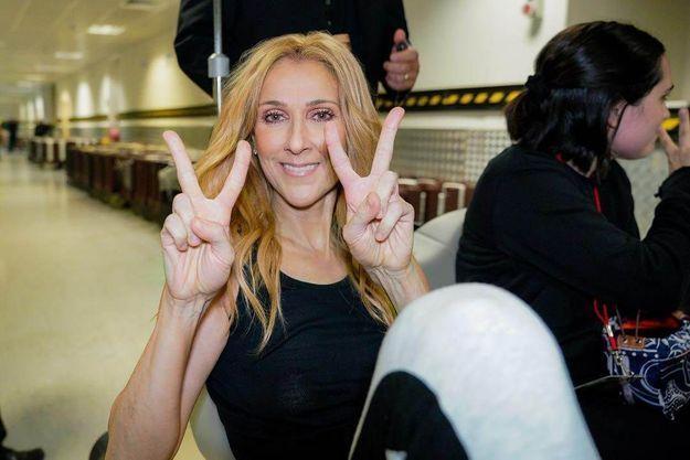 Celine Dion Dans Une Position Tres Osee Et Inattendue Sur Instagram