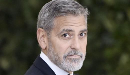 la vidéo de l'accident de George Clooney