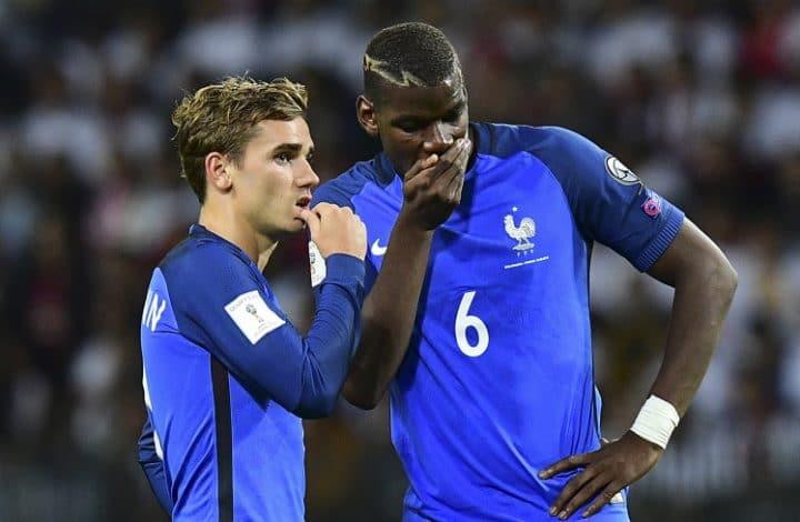 Paul Pogba trolle Antoine Griezmann
