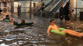Les inondations donnent des idées !