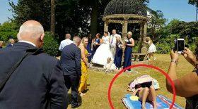 intrus s'incruste photos de mariage