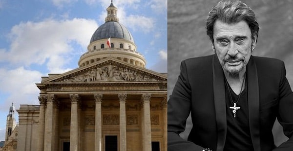 Johnny Hallyday pourrait reposer au Panthéon !