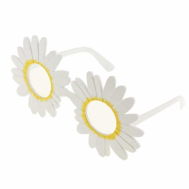 lunettes fleurs