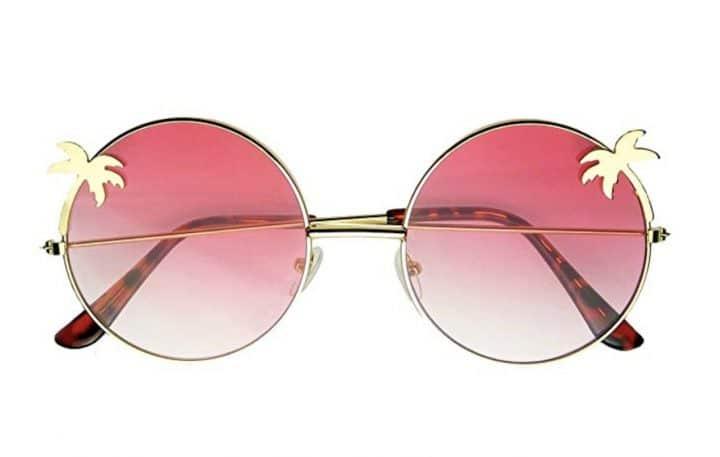 lunettes palmiers