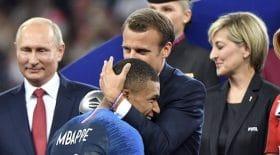 Si Emmanuel Macron porte ce bracelet, ce n'est pas pour encourager les Bleus