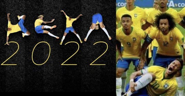 Un alphabet sur les simulations de Neymar a été créé !