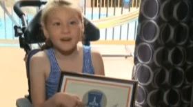 noyade, soeur sauve frère noyade, Lexie, piscine, paralysie cérébrale