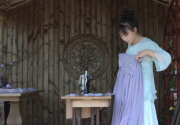li ziqi fait une robe
