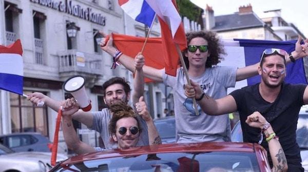 Avez vous le droit de klaxonner après une victoire des bleus en coupe du monde ?
