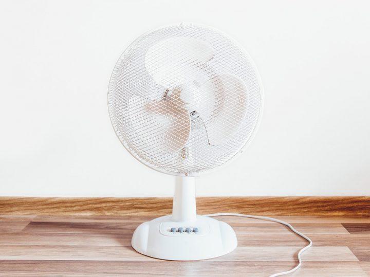 dormir avec le ventilateur