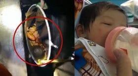 bébé abandonné fausse septique épuisette