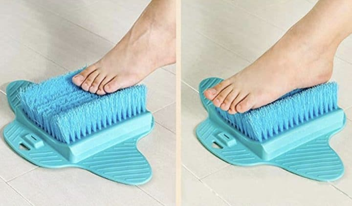 brosse pieds