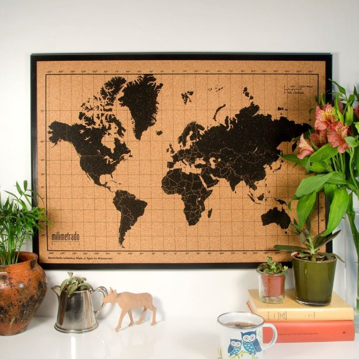 carte monde liege