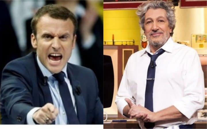 Alain Chabat parodie Emmanuel macron