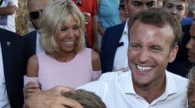 Emmanuel et Brigitte Macron s'éclatent en vacances