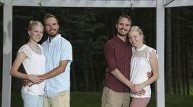 des jumeaux identiques se marient