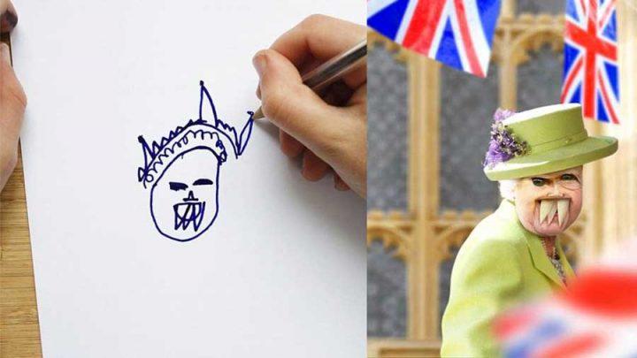 monde selon les dessins d'enfants