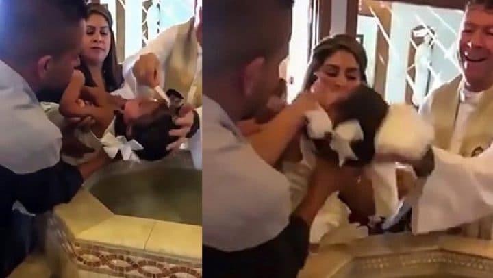 baptême prêtre curé insulté de puto