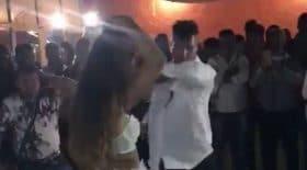 homme marié danse