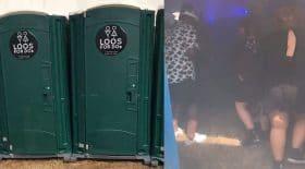 toilettes portables rave party