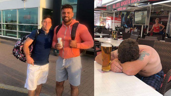 vacances improvisées boire des bières Majorque