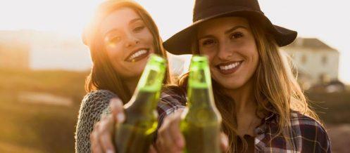 femmes bière