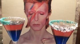 Un bar à cocktails David Bowie