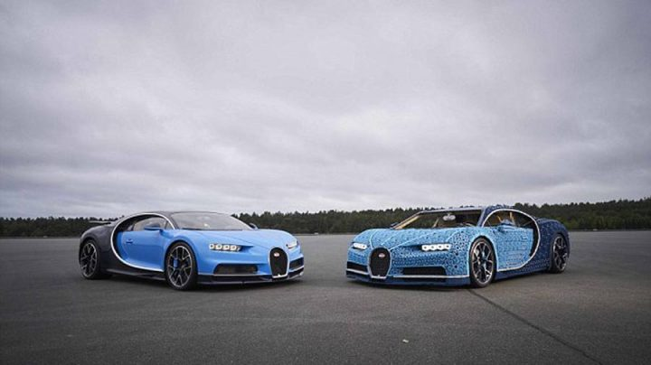 Une Bugatti taille réelle et entièrement fonctionnelle en LEGO Technic