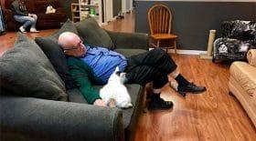 chat-retraité-sauver-refuge-sieste
