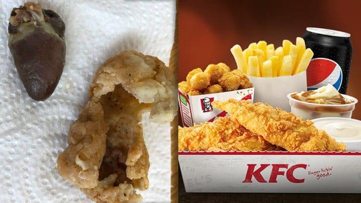 cœur de poulet pané kfc
