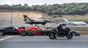 course f-16 jet lexus moto 400 m