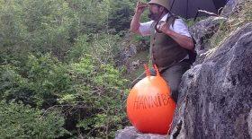 traverser les alpes ballon sauteur