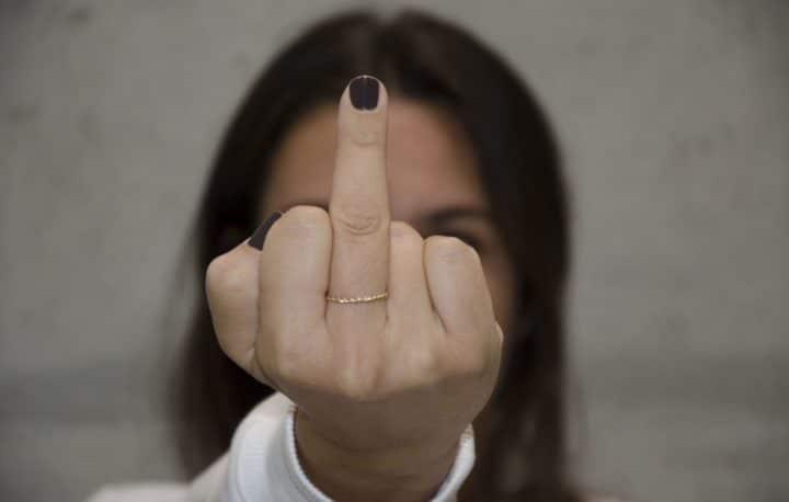 doigt d'honneur