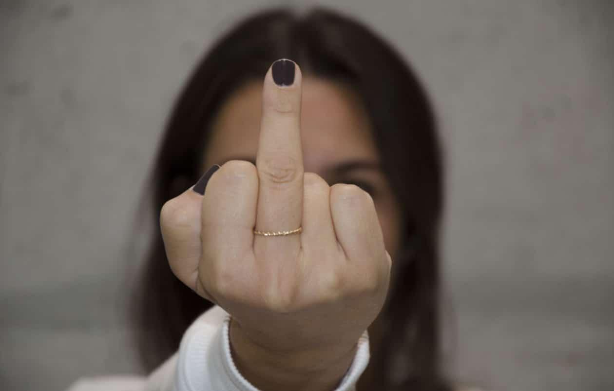 Doigt D Honneur Photo l'origine et la signification du doigt d'honneur pourraient vous