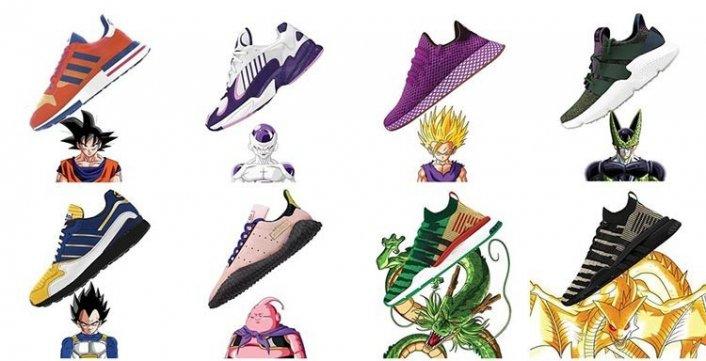 dragon-ball- Z - adidas- sneackers