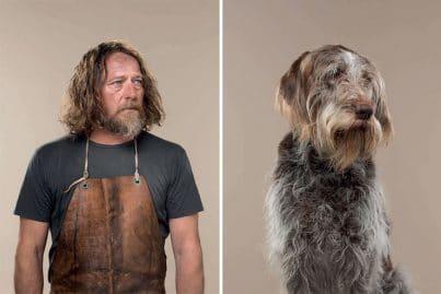 Il photographie les ressemblances maitres-chiens