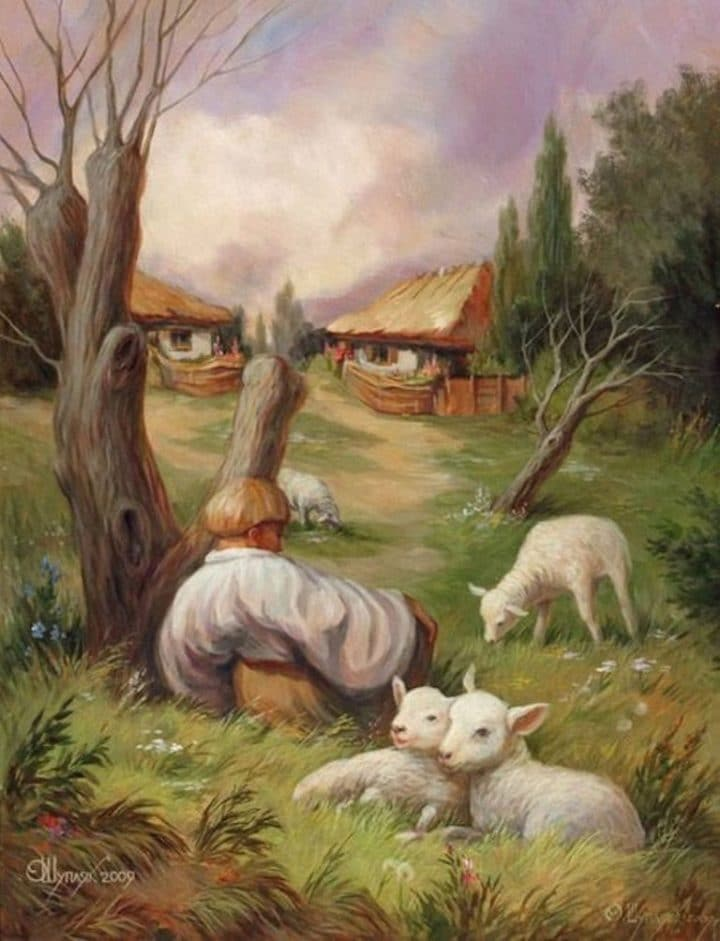 Illusion d'optique Oleg Shuplyak