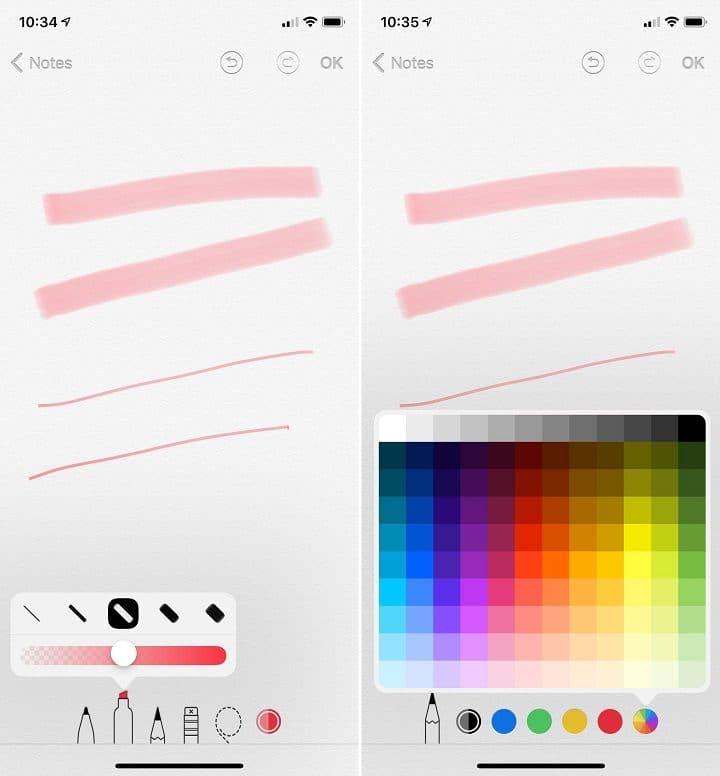 iOS12-fonctionnalités-cachées-annotations-couleurs