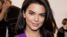 Kendall Jenner nue sous sa robe à paris