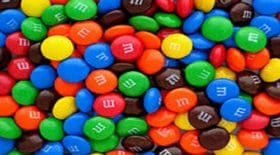 M&M's fourres au Nutella