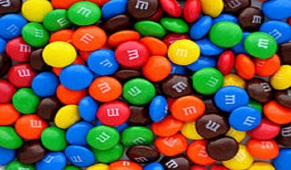 M&M's fourres au Nutella