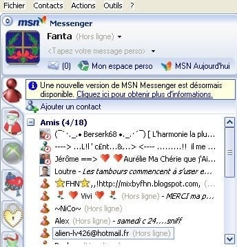 Msn interface