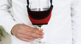 porte verre vin