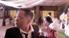 mariage interrompu typhon mangkhut philippines