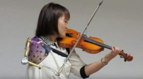 violoniste amputée du bras