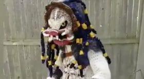 costume alien tricot